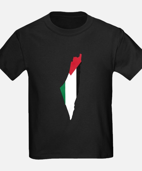 Palestine Flag and Map T