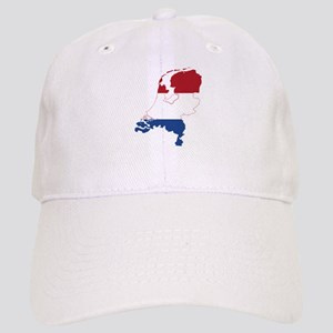 Netherlands Flag and Map Cap