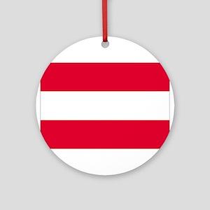 Austria Ornament (Round)