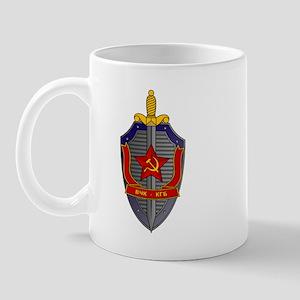 KGB Emblem Mug