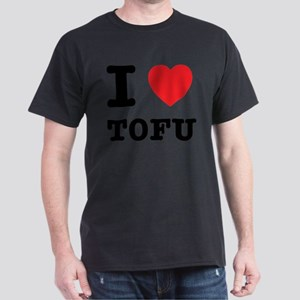 I Heart Tofu Dark T-Shirt