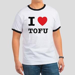 I Heart Tofu Ringer T