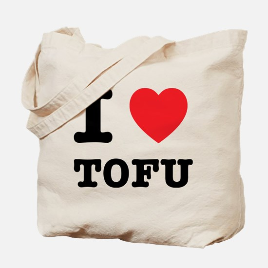 I Heart Tofu Tote Bag