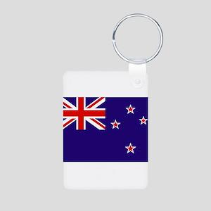 New Zealand Aluminum Photo Keychain