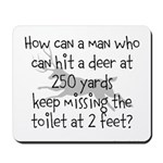 Toilet Hunter Mousepad