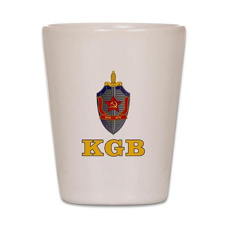 KGB Shot Glass
