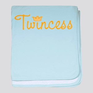 Twincess baby blanket