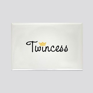 Twincess Rectangle Magnet