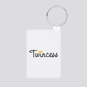 Twincess Aluminum Photo Keychain
