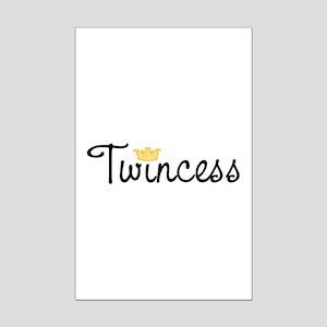 Twincess Mini Poster Print