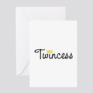 Twincess Greeting Card