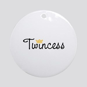 Twincess Ornament (Round)