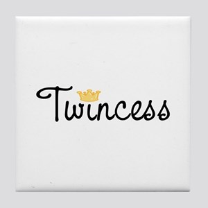 Twincess Tile Coaster