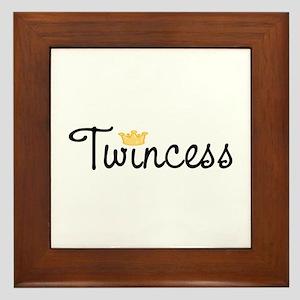 Twincess Framed Tile