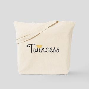 Twincess Tote Bag