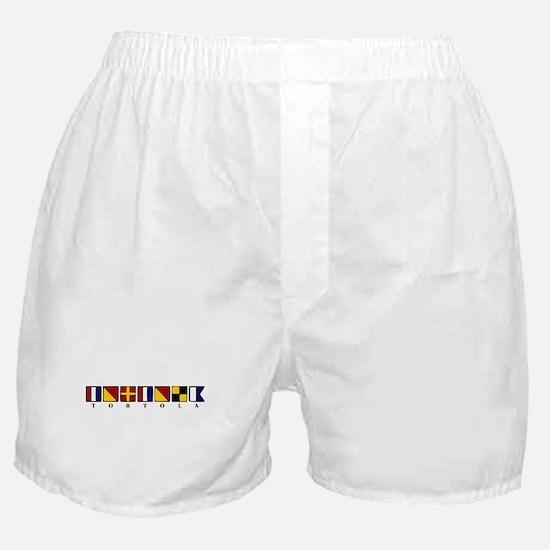 Nautical Tortola Boxer Shorts