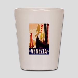 Venice Travel Poster 1 Shot Glass