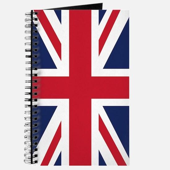 Union Jack United Kingdom Flag Journal