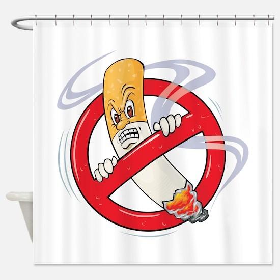 No Smoking Shower Curtain