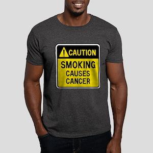 Smoking Warning Dark T-Shirt