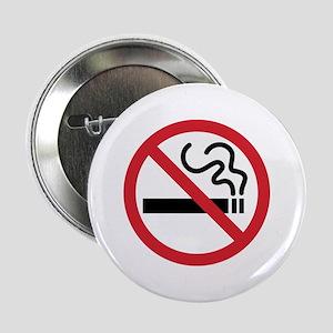 """No Smoking 2.25"""" Button"""