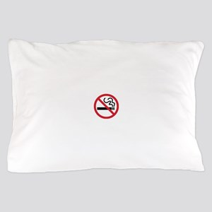 No Smoking Pillow Case