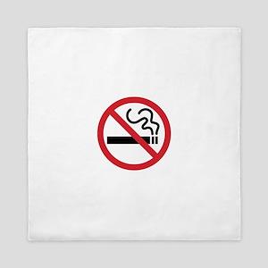 No Smoking Queen Duvet