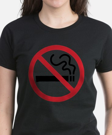 No Smoking Women's Dark T-Shirt