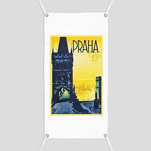 Prague Travel Poster 1 Banner