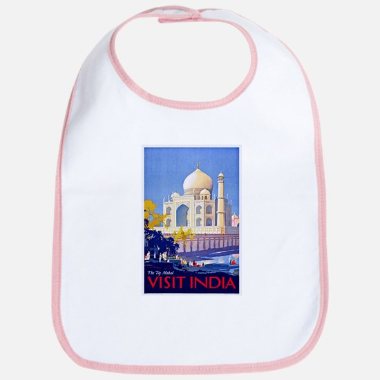 India Travel Poster 13 Bib