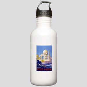 India Travel Poster 13 Stainless Water Bottle 1.0L