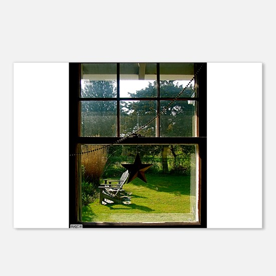 Out the Window Postcards (Package of 8)