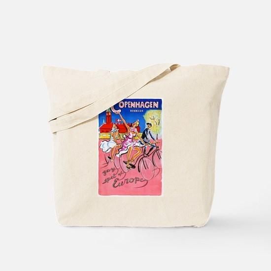Copenhagen Travel Poster 1 Tote Bag