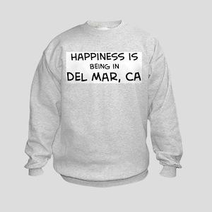 Del Mar - Happiness Kids Sweatshirt