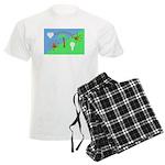 Flag Men's Light Pajamas