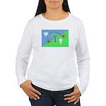 Flag Women's Long Sleeve T-Shirt