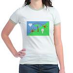 Flag Jr. Ringer T-Shirt