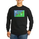 Flag Long Sleeve Dark T-Shirt