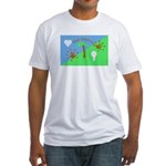 Flag Fitted T-Shirt