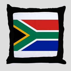South Africa Throw Pillow