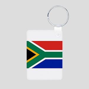 South Africa Aluminum Photo Keychain