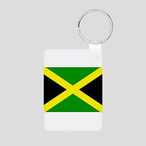 Jamaica Aluminum Photo Keychain