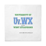 Univ. of West Xylophone Queen Duvet