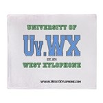 Univ. of West Xylophone Throw Blanket