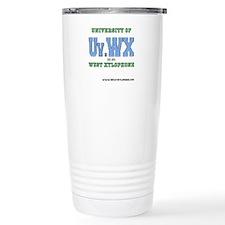 Univ. of West Xylophone Stainless Steel Travel Mug