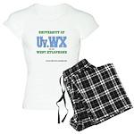 Univ. of West Xylophone Women's Light Pajamas