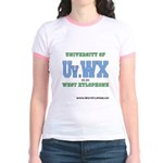 Univ. of West Xylophone Jr. Ringer T-Shirt