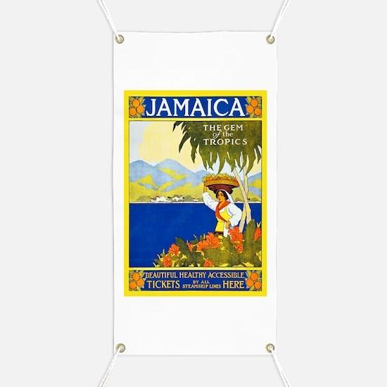 Jamaica Travel Poster 2 Banner