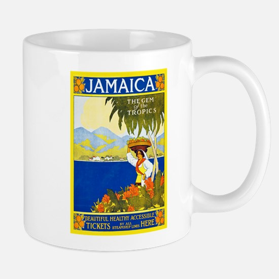 Jamaica Travel Poster 2 Mug