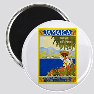 Jamaica Travel Poster 2 Magnet